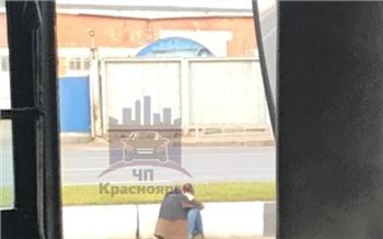 Возле Красноярской медакадемии сбили женщину, когда она пыталась перейти 8-полосную дорогу