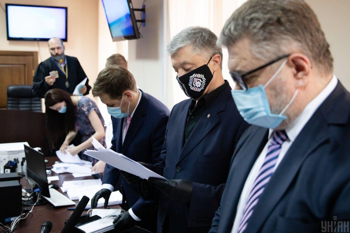 Порошенко в суде: адвокаты заявили об отводе группе прокуроров