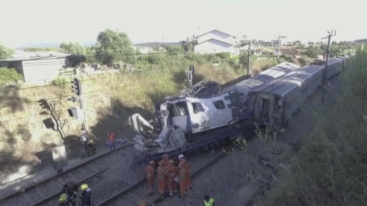 В Португалии с рельсов сошел скоростной поезд: много пострадавших
