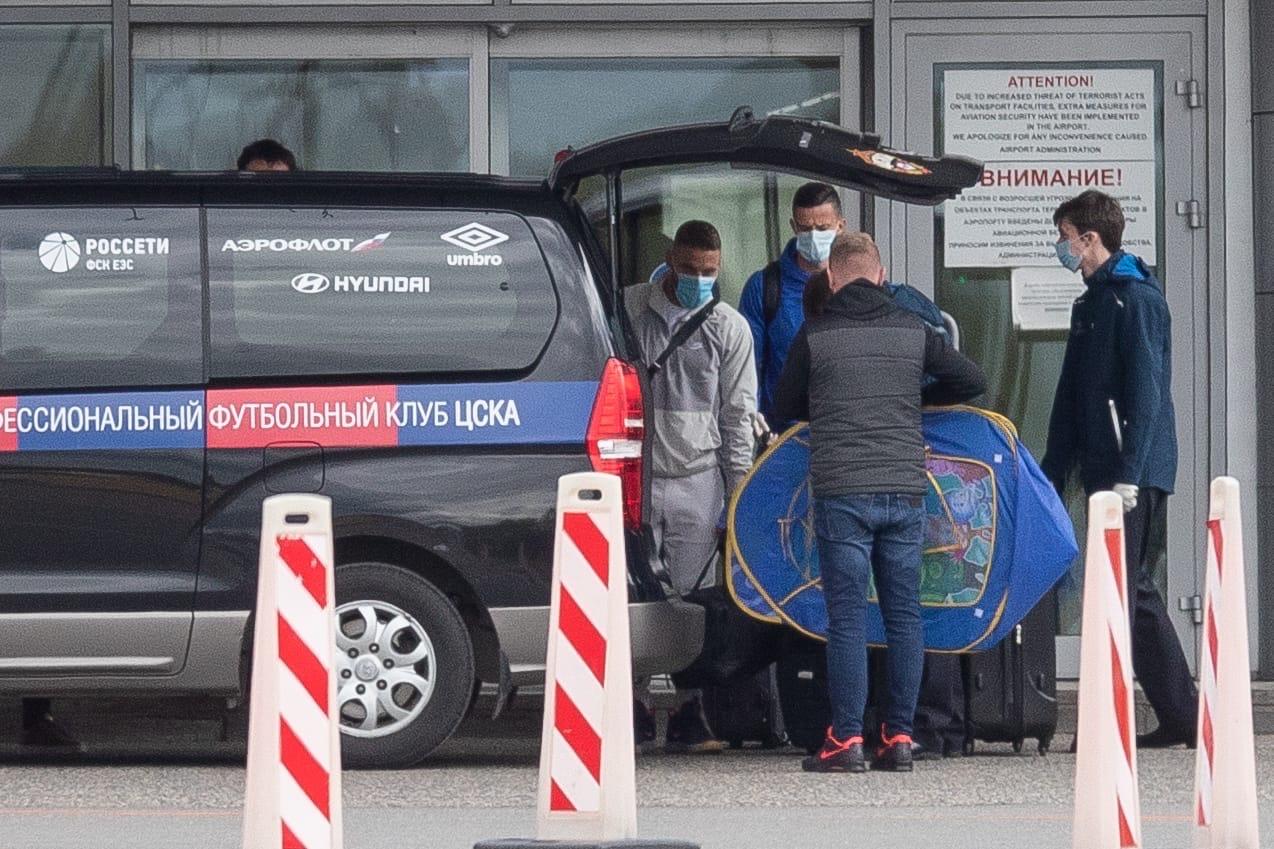 Три легионера ЦСКА прилетели в Россию