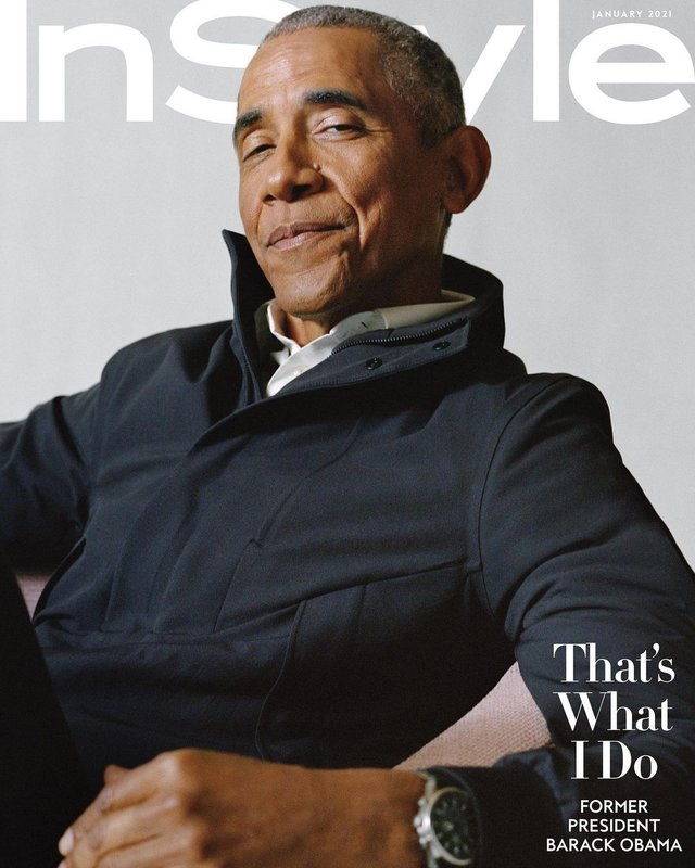 Барак Обама снялся для обложки журнала InStyle