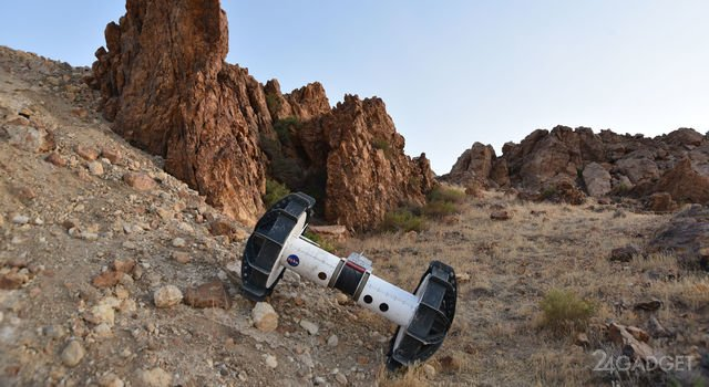 Представлен марсоход DuAxel для исследования труднодоступной местности (3 фото + видео)