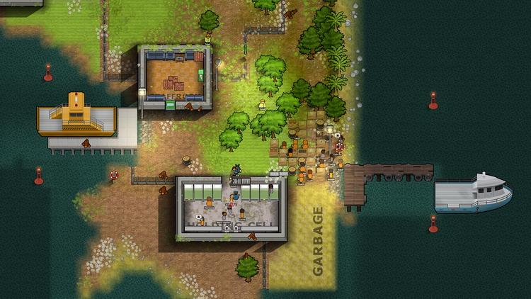 Новое расширение Prison Architect позволит построить свой Алькатрас