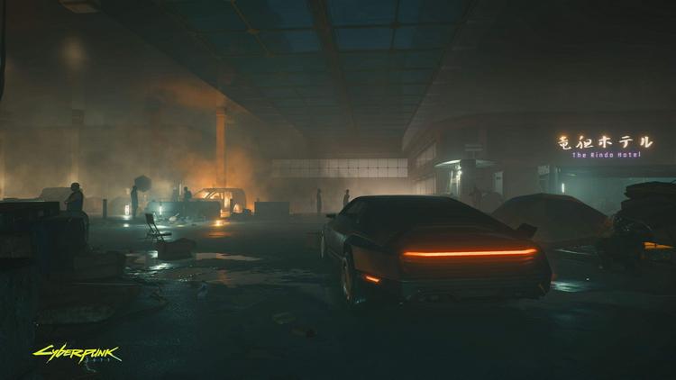 CD Projekt RED представила пустынную местность и новый автомобиль Cyberpunk 2077