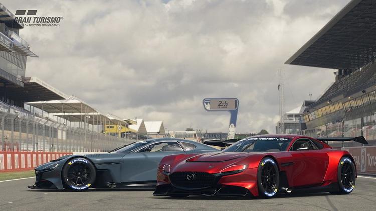 Mazda отмечает столетний юбилей: в Gran Turismo Sport вышло обновление с Mazda RX-Vision GT3 Concept
