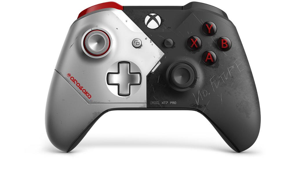 «Царапины и проклятия»: отдельные покупатели приняли дизайн контроллера Xbox One X в стиле Cyberpunk 2077 за следы использования