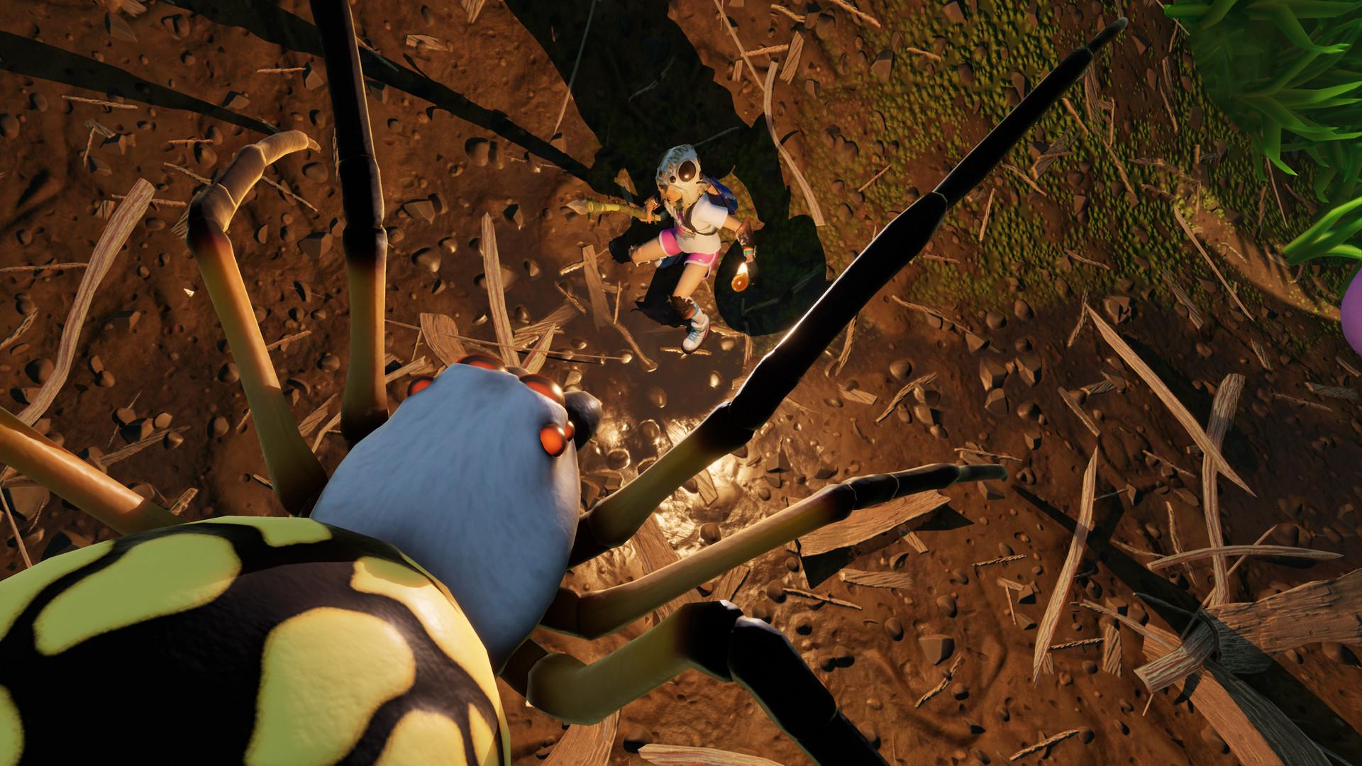 Obsidian в трейлере кооперативной выживалки Grounded прорекламировала Cyberpunk 2077
