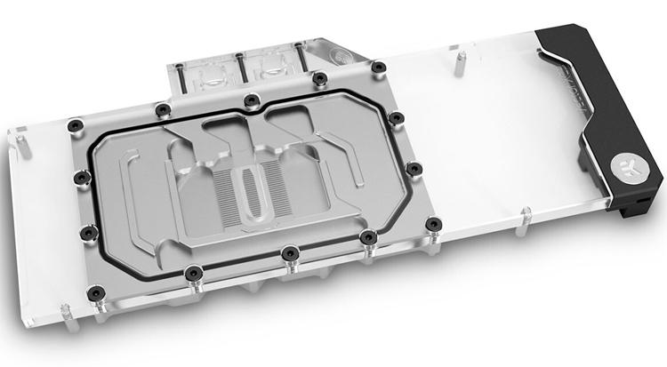 Новые водоблоки EK Vector рассчитаны на видеокарты EVGA XC3 GeForce RTX 30-й серии