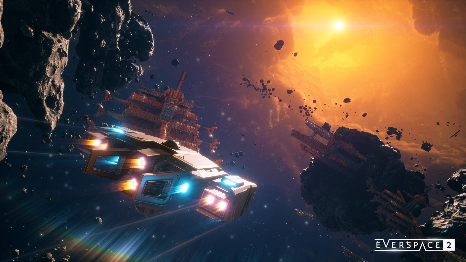 Создатели Everspace 2 отложили запуск раннего доступа — тоже из-за Cyberpunk 2077