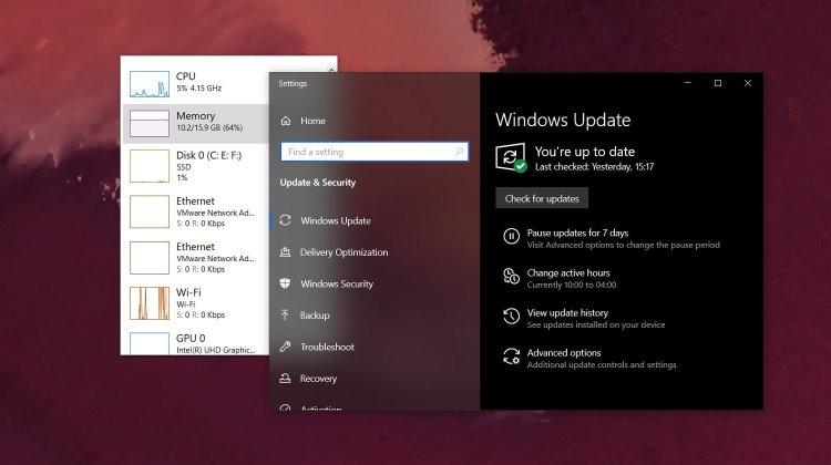 Свежее обновление Windows 10 обеспечивает зависания системы и падение производительности