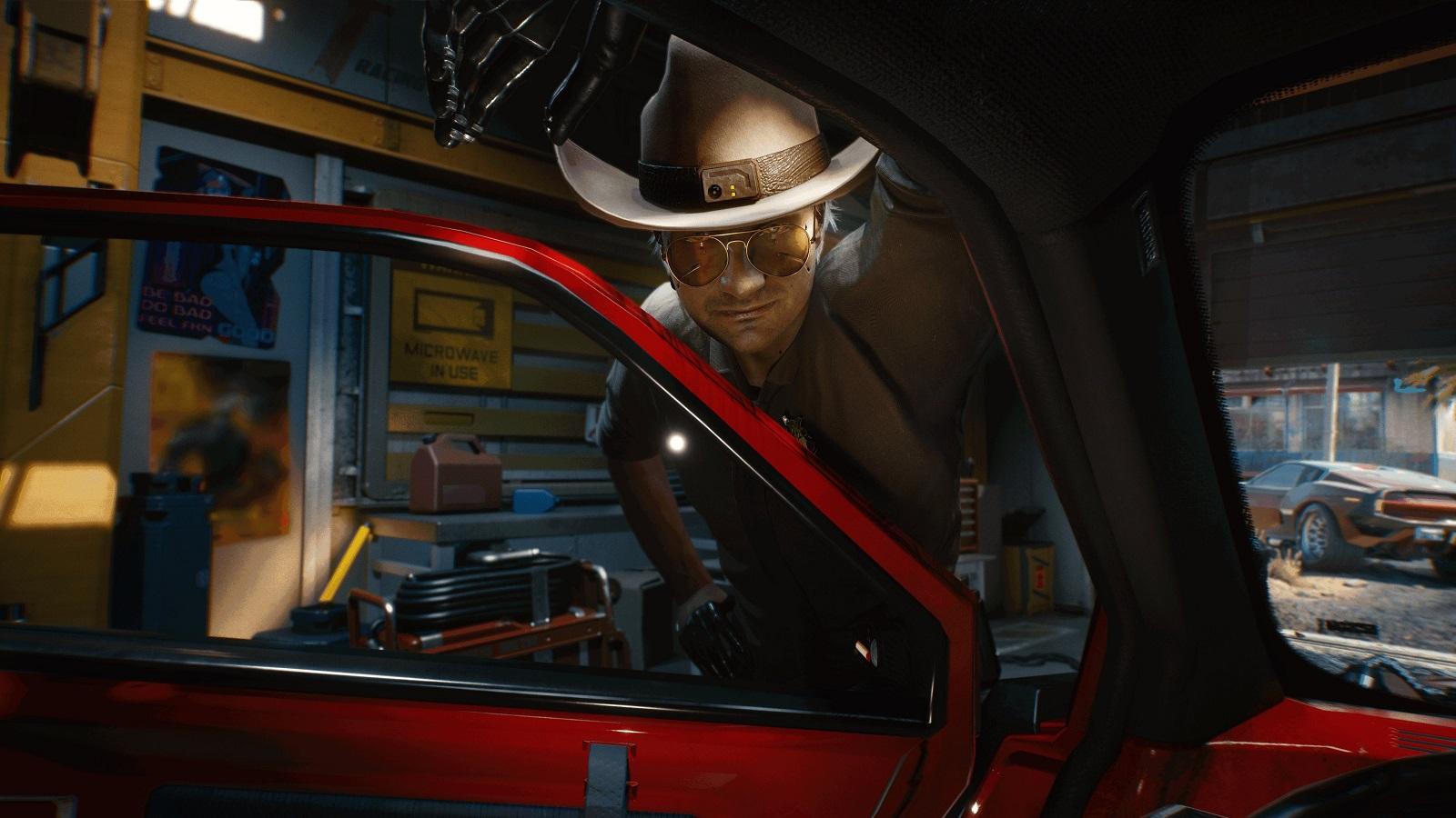 Видео: вступление кочевника и улучшения первого дня в геймплее Cyberpunk 2077 с PS4 Pro и PS5
