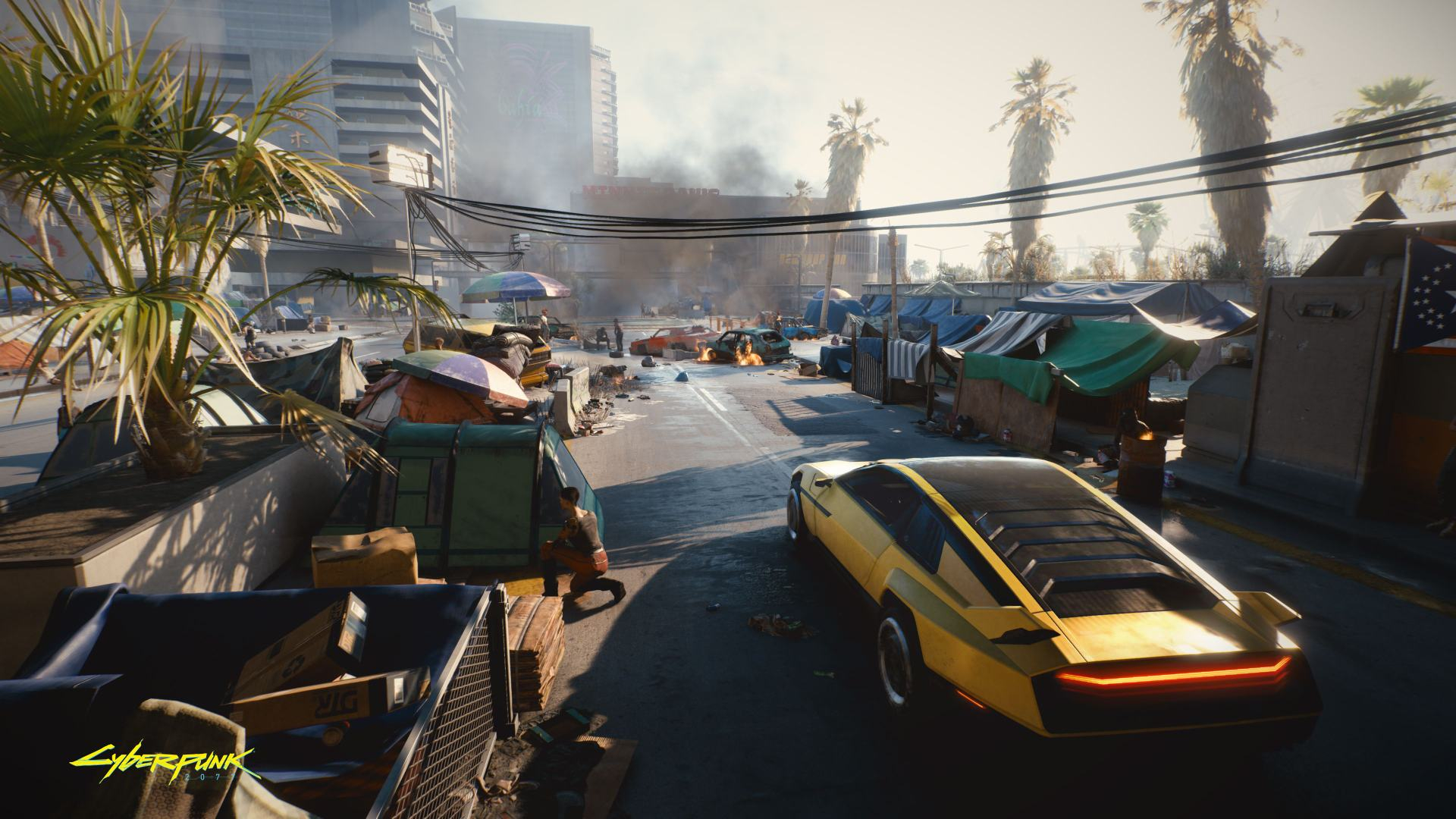 CDPR: Cyberpunk 2077 весьма неплохо работает на PS4 и Xbox One, учитывая огромный мир игры