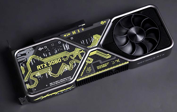 CD Projekt RED разыграет особую версию NVIDIA GeForce RTX 3080 в стиле Cyberpunk 2077
