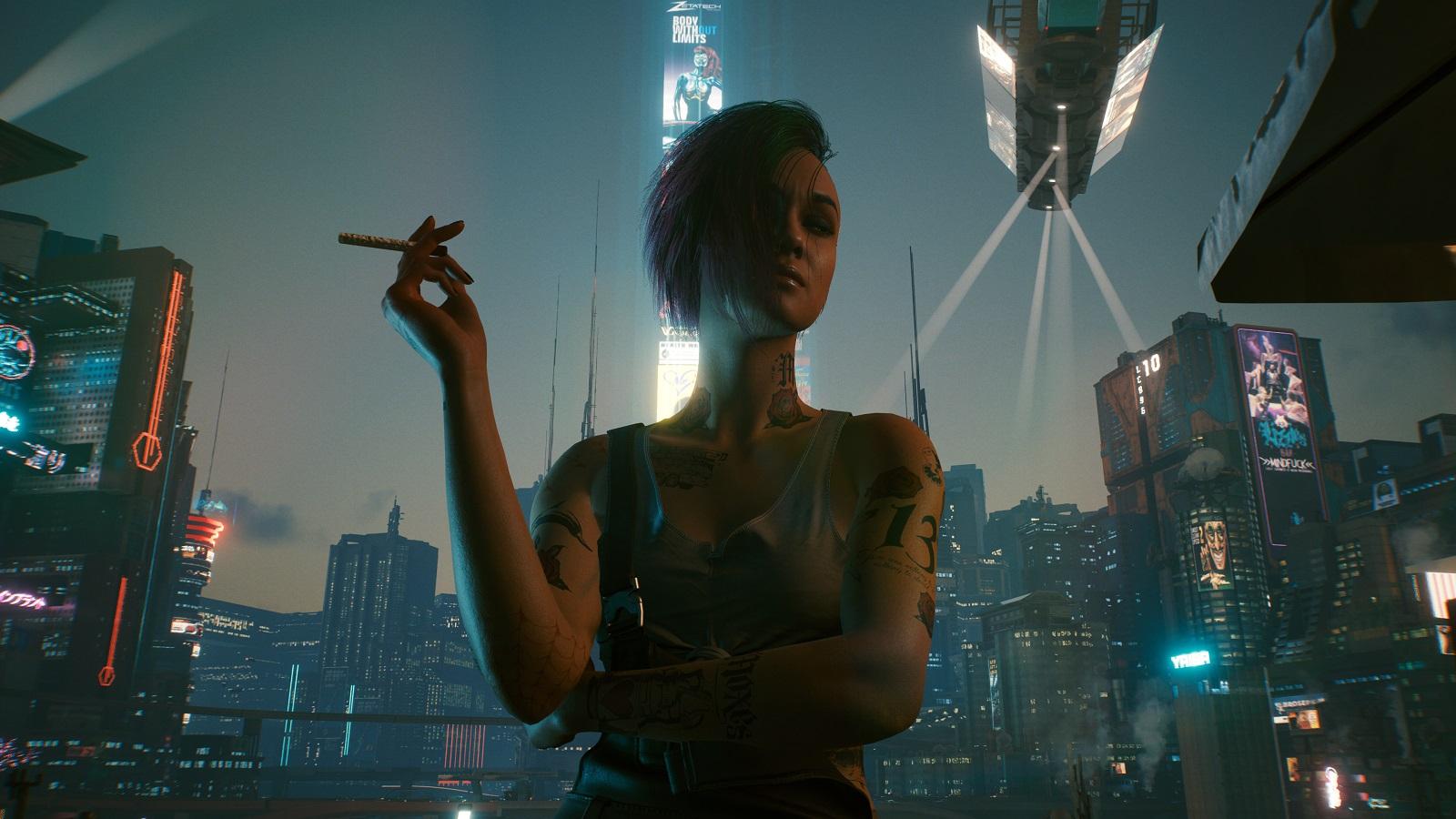Первое бесплатное дополнение к Cyberpunk 2077 расскажет «новую историю о Найт-Сити» — подробности уже скоро