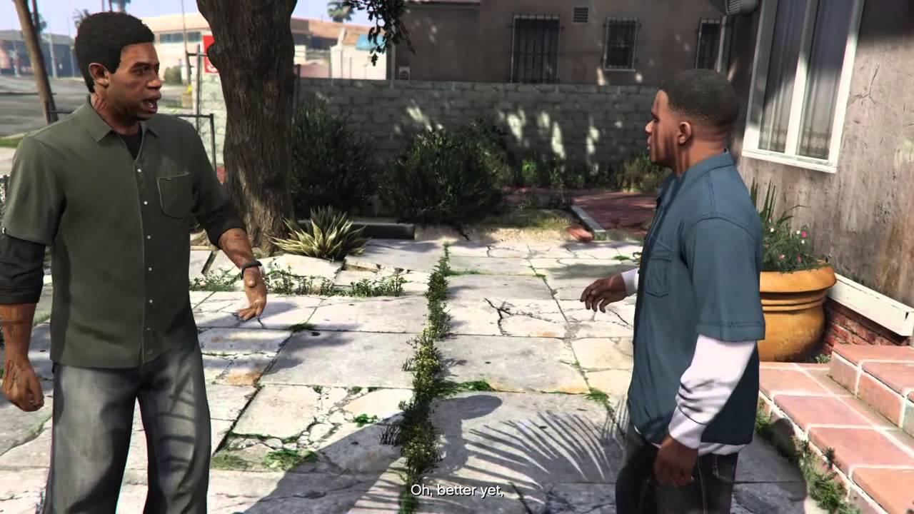 Видео: актёры озвучивания GTA V воссоздали смешной диалог Франклина и Ламара в реальной жизни