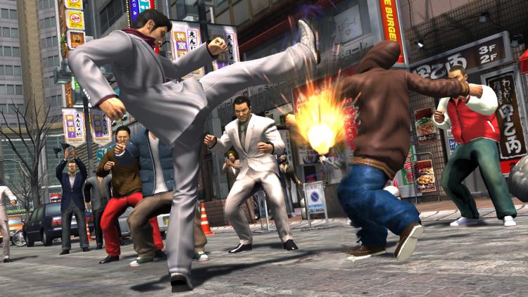 Обновление Yakuza Remastered Collection улучшило работу игр сборника с ЦП и графикой