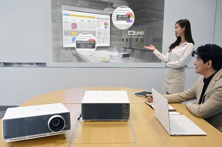 Проектор LG ProBeam BU60PST обеспечивает яркость в 6000 люмен