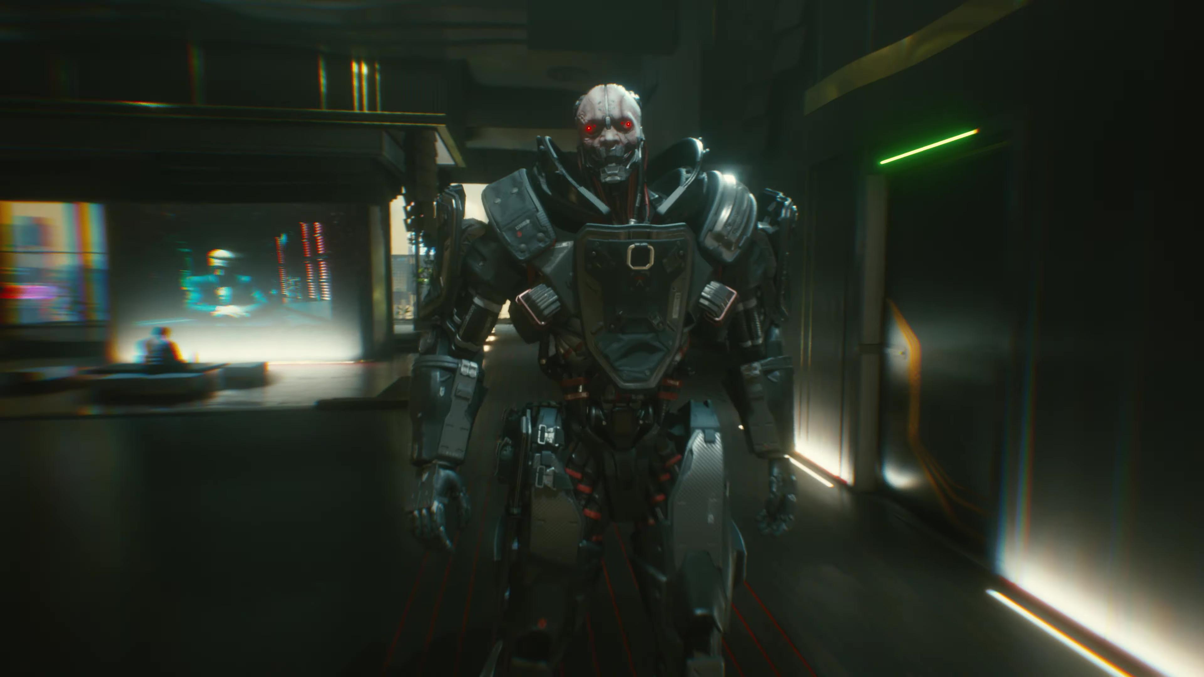 Секрет или баг? В Cyberpunk 2077 обнаружили тень одного из главных злодеев там, где её не должно быть