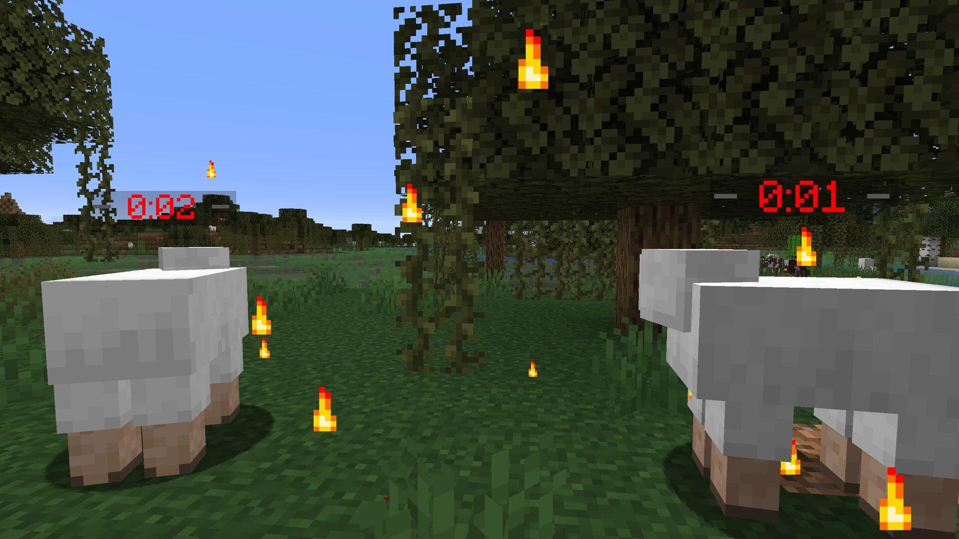 Новый уровень сложности: моддер превратил все элементы Minecraft в бомбы с таймерами