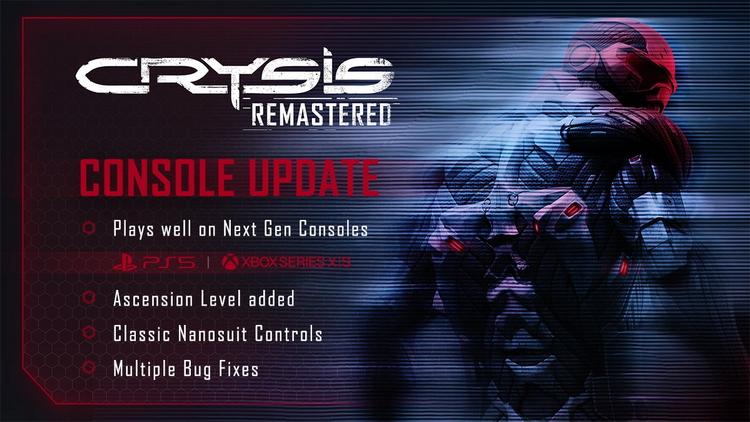 Обновление Crysis Remastered улучшило графику на новых консолях, но 4K есть только на Xbox Series X и S