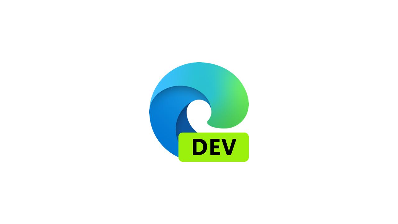 Выпущена сборка Microsoft Edge Dev 87.0.637.0