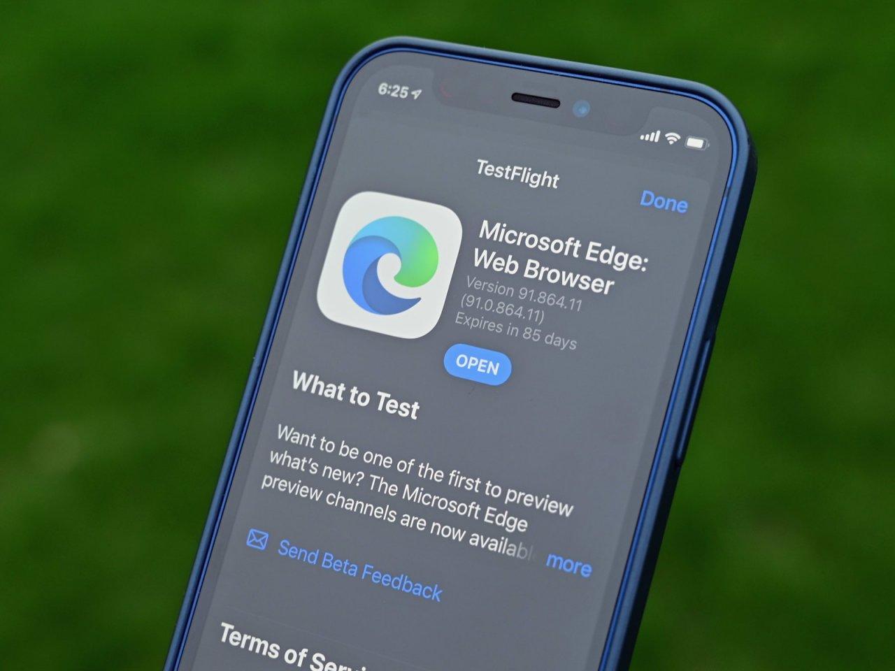 Microsoft выпустила Edge Beta 91 для iOS с унифицированной кодовой базой