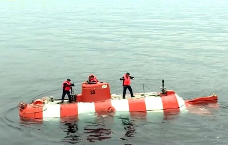 В Петербурге закончен ремонт глубоководного аппарата «АС-28» Черноморского флота