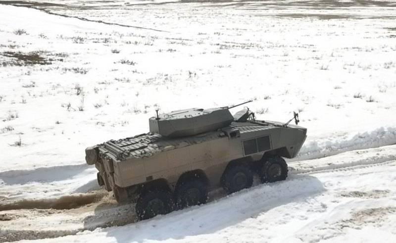 Турция предложила Казахстану боевую колёсную машину «Arma» 8Х8