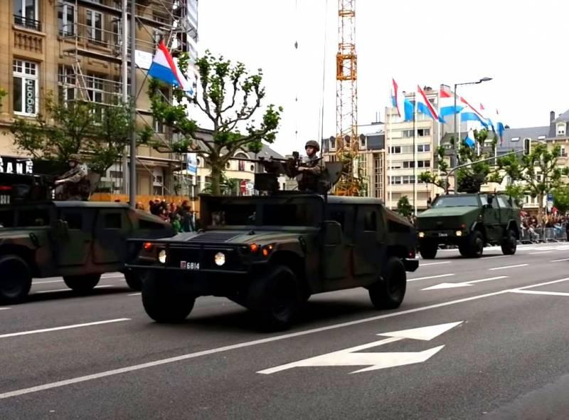Армия Люксембурга решила модернизировать парк бронетехники