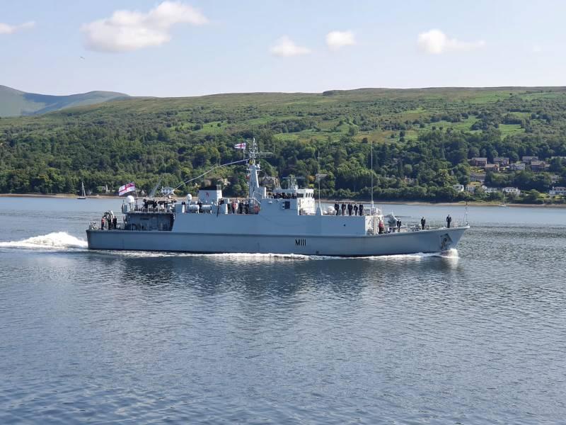 Первый тральщик для ВМС Украины выведен из эксплуатации британского флота