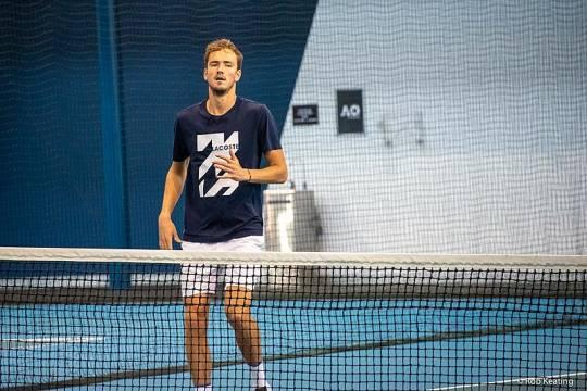 Россиянин Даниил Медведев впервые добрался до финала Australian Open