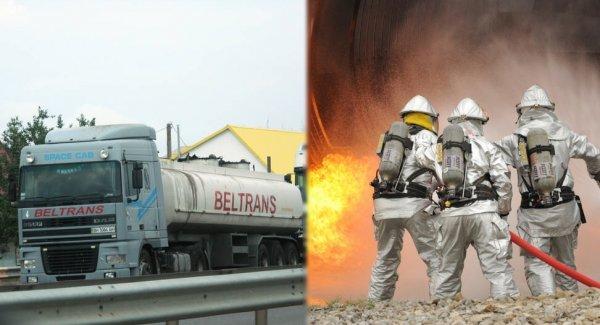 В Китае более ста человек пострадали от взрыва бензовоза на шоссе
