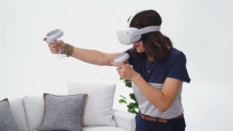 Опубликовано видео с новым VR-шлемом Oculus Quest 2, не зависящим от компьютера