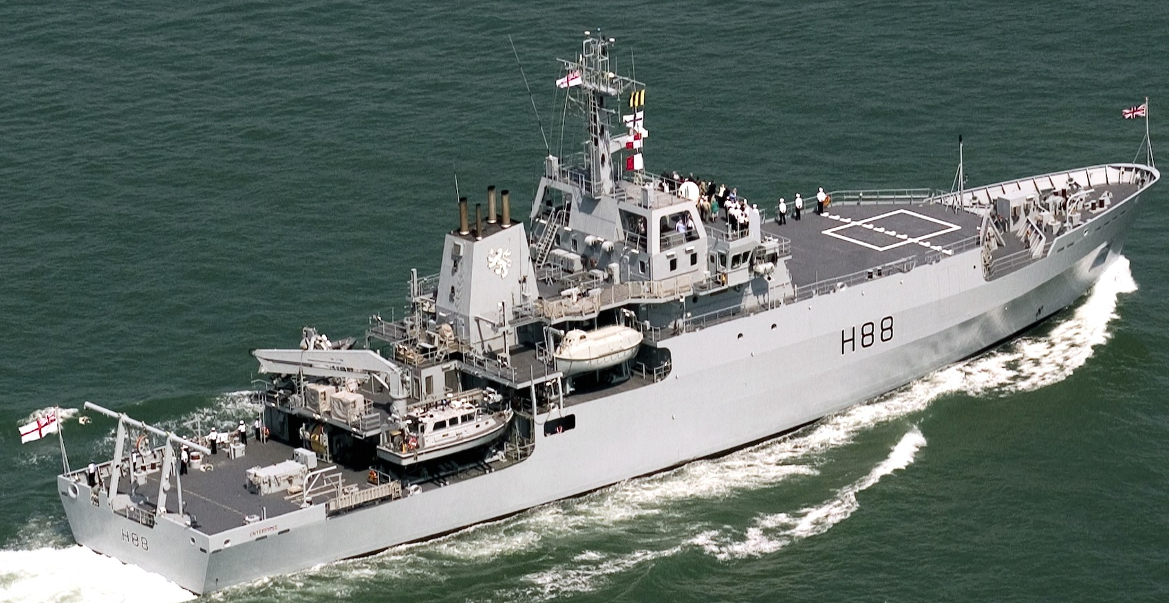 Британский корабль-разведчик заплыл в Черное море