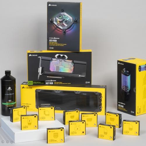 Собираем кастомную систему жидкостного охлаждения процессора и видеокарты из компонентов Corsair Hydro X Series: обзор компонентов и онлайн-конфигуратора, сборка и тестирование, сравнение с воздушным охлаждением