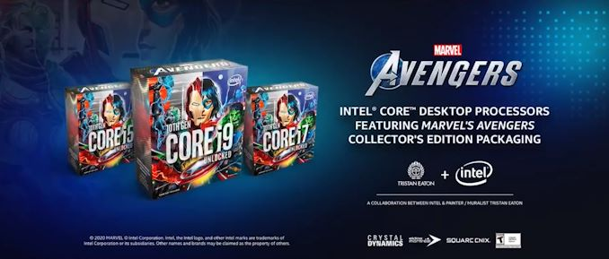 Intel представила процессоры Marvels Avengers Collectors Edition Packaging