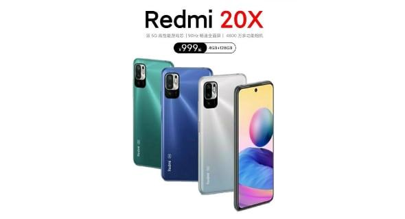 Постер Redmi 20X раскрыл дизайн и характеристики устройства