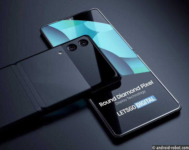 Samsung Z Fold и Z Flip получили дисплей Round Diamond Pixel