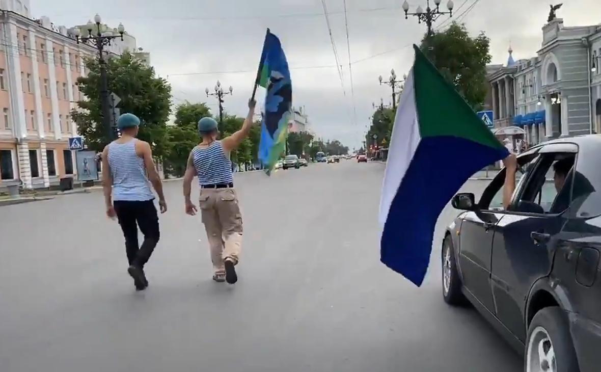 В Хабаровске возобновились акции в поддержку Фургала
