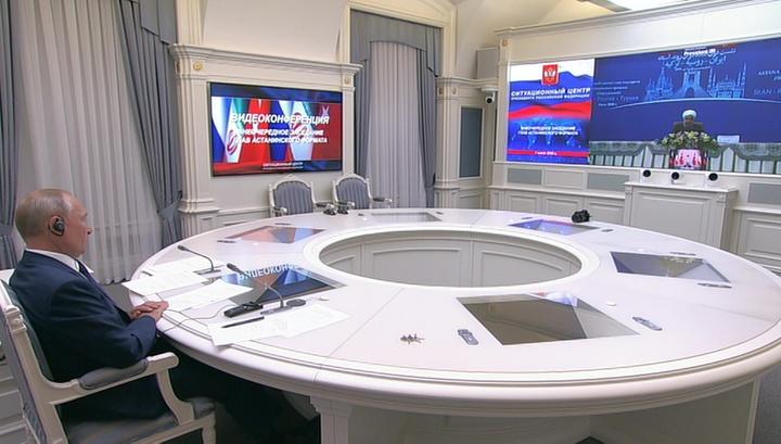 США добавляют проблем и высасывают ресурсы Сирии, считают Путин и Рухани