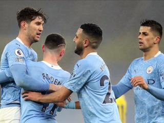 'Манчестер Сити' одолел дома 'Брайтон'