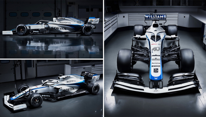 Формула-1. Команда Williams представила болид на сезон-2020