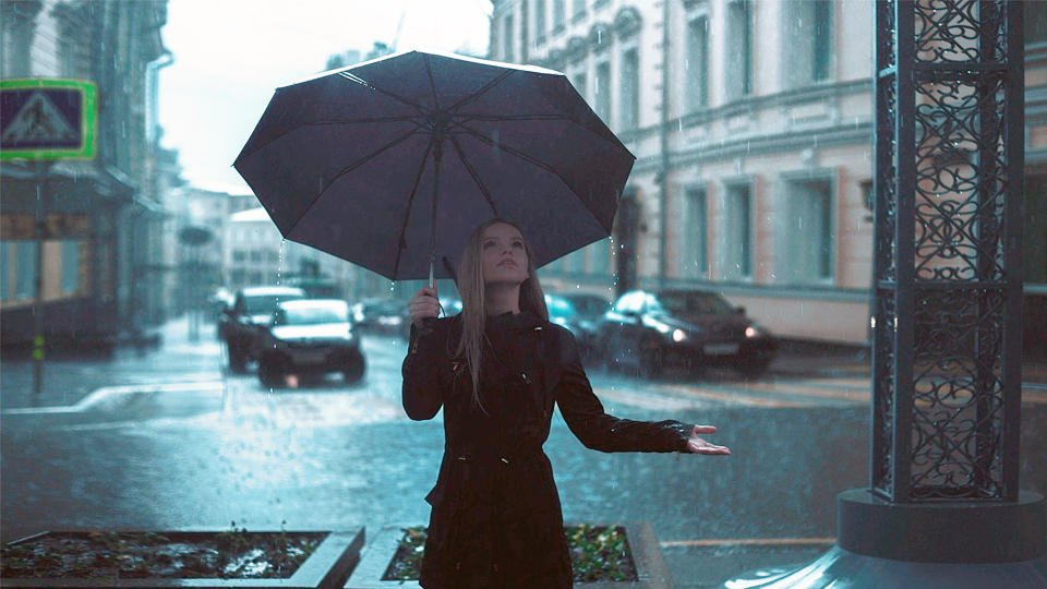В Москве в четверг ожидаются дожди с грозами