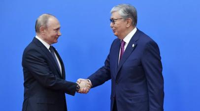 Путин провёл телефонные переговоры с Токаевым
