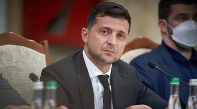 Зеленский поручил создать украинский центр для производства вакцин