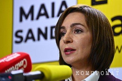 В России оценили предложение Санду о выводе миротворцев из Приднестровья