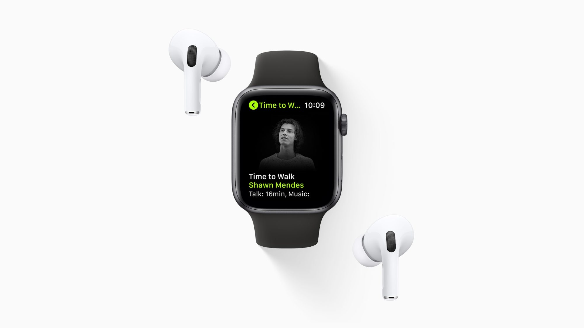 Apple представила функцию Time to Walk для Apple Watch и подписчиков Fitness