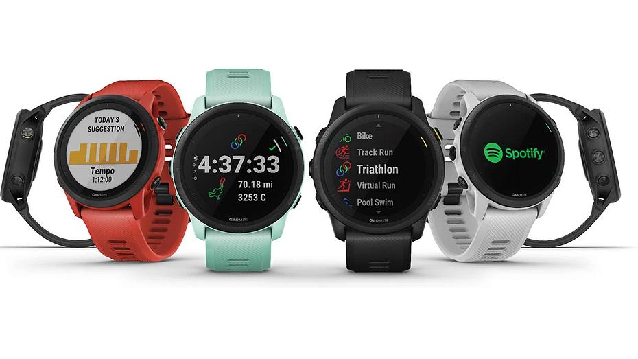 Garmin представила свои самые компактные и легкие умные часы с полным набором функций для бега и триатлона