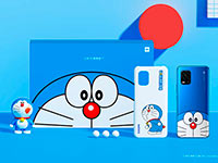 Xiaomi представила смартфон Mi 10 Youth Doraemon Limited Edition