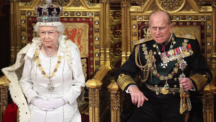 Супруг Елизаветы II принц Филипп госпитализирован
